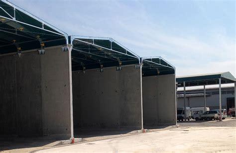 tettoie per portoni kopron capannoni coperture baie di carico portoni