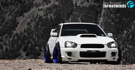 2005 subaru wrx custom high contrast matt coconut farmofminds