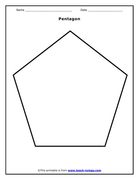 pentagon template pentagon shape template memes