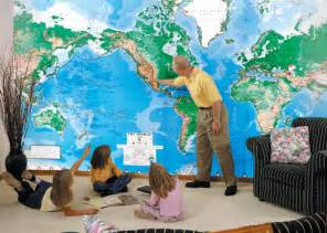 World Wall Mural see our national geographic wall murals see our other wall mural maps