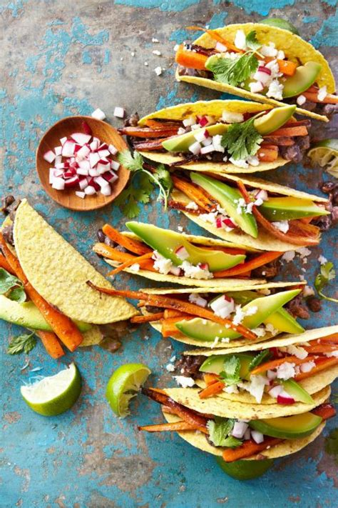 a cooks pretty simple cooking 100 delicious vegetarian recipes to make you fall in with real food books carrot and black bean crispy tacos jalvis foodie by