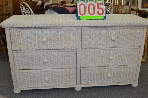 white wicker dresser 6 drawer april vintage plus in mora minnesota by made of mora