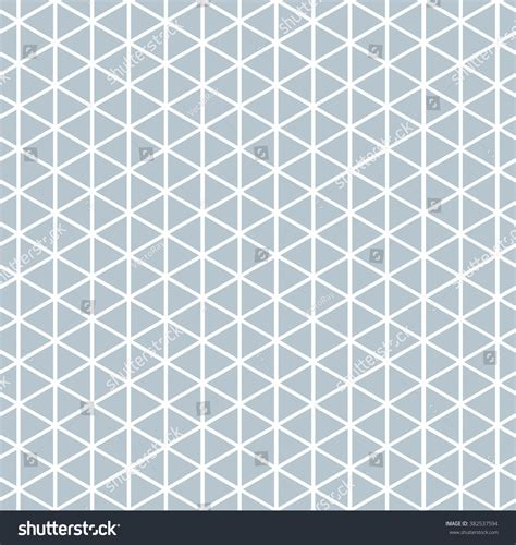 triangle pattern grey seamless triangle pattern background in grey stock vector