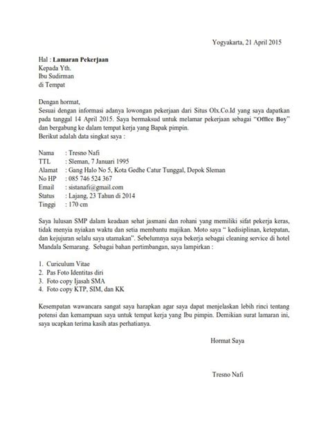 contoh surat lamaran kerja via email bahasa inggris contoh wa