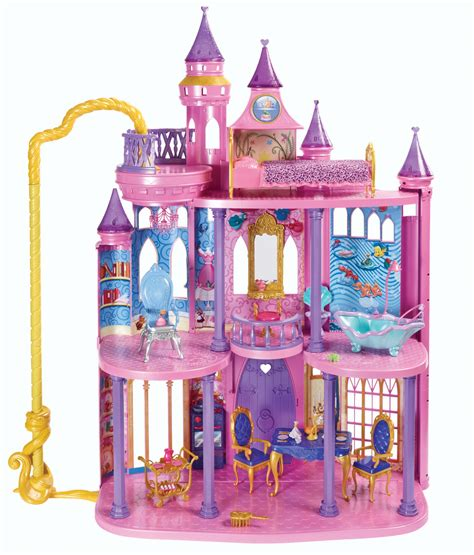 disney princess doll houses disney ultimate dream castle princess house set pink playset dolls play girl new ebay