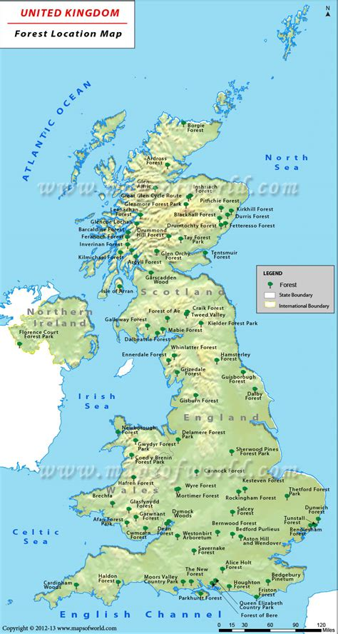Find In The Uk Uk Forests Map Maps Cymru Isles And Wales
