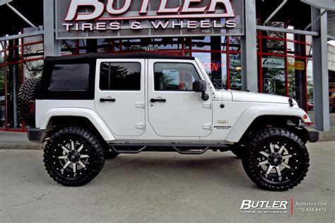 Jeep Wrangler Fuel Wheels Jeep Wrangler With 20in Fuel Maverick Wheels Exclusively