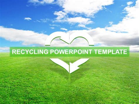 powerpoint themes free download 2010 environment free recycling template