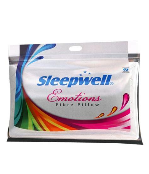 Buy Sleepwell Pillow by Sleepwell Silent Emotions Pillow Buy Sleepwell Silent