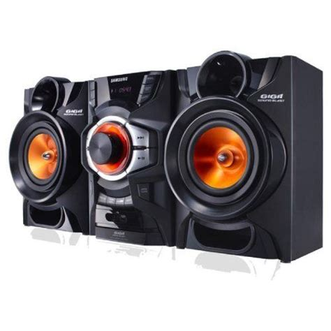 samsung 160 watts stereo shelf systems with built in cd