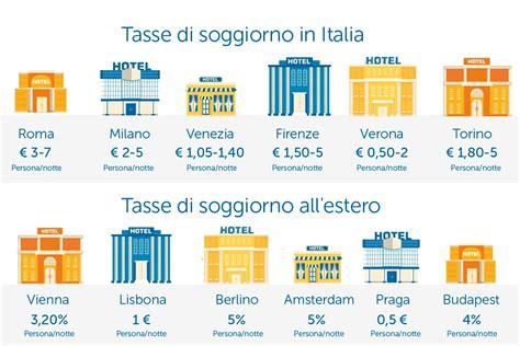tassa di soggiorno dove si paga tassa di soggiorno quanto si paga intermundial