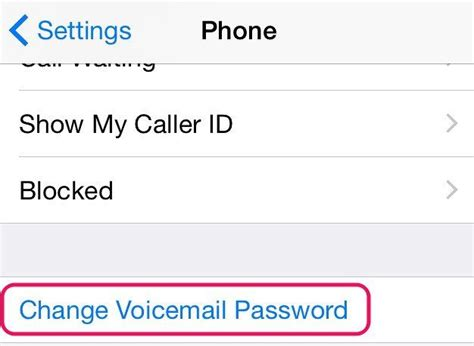 reset voicemail password iphone 6 plus how do i reset my iphone 6 voicemail password howsto co