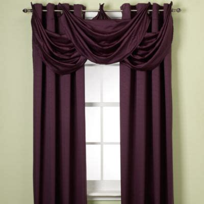black and plum curtains buy plum panel curtains from bed bath beyond