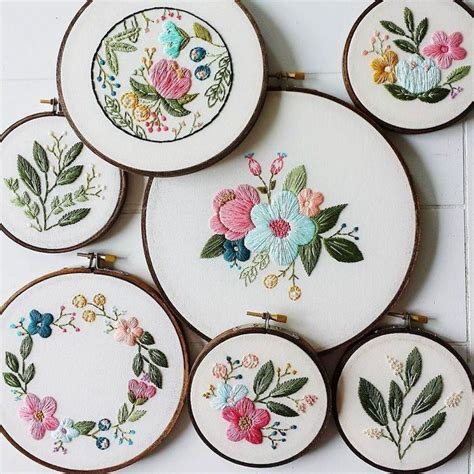 embroidery pattern on pinterest best 25 hand embroidery flowers ideas on pinterest