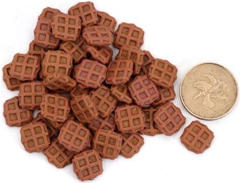 Miniatur Wafel braune miniatur waffeln deko decotti 5 st 252 ck miniatur