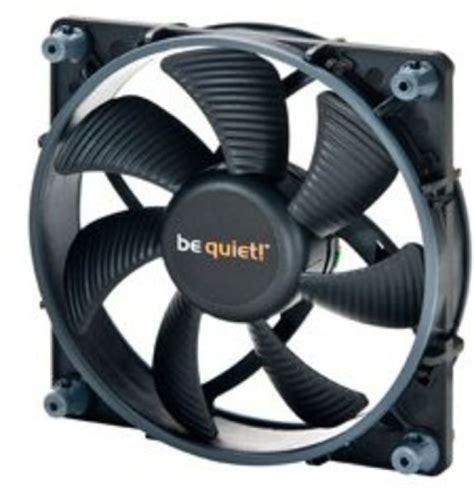 quietest case fans 120mm be quiet shadow wings sw1 120mm mid speed case fan