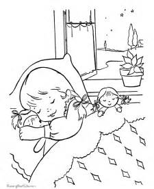 sleeping coloring page sleeping coloring az coloring pages