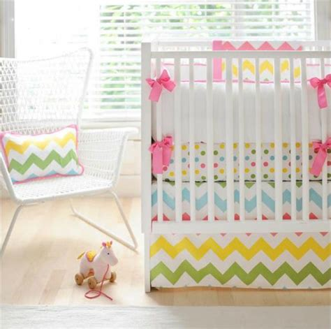 Rainbow Crib Bedding Rainbow Nursery Bedding Thenurseries