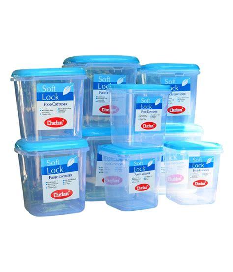 plastic storage containers kitchen chetan plastic kitchen storage containers airtight 9 pc