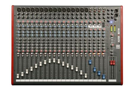Mixer Allen Heath 24 Channel Bekas allen heath zed 24 24 channel mixer with usb interface