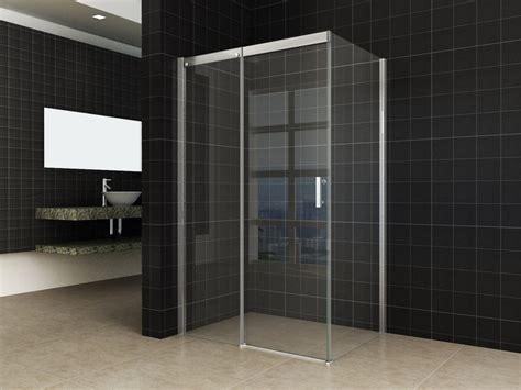 schuifdeur douche softclose softclose douche deur met zijwand rvs raamwisser
