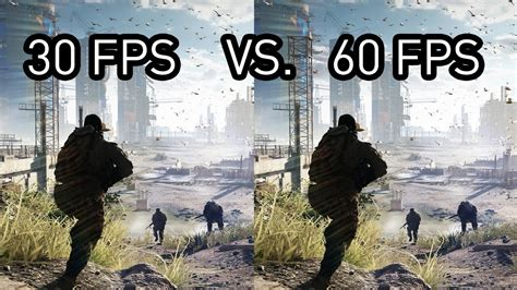 frames per second 30 fps vs 60 fps gameplay there is a difference