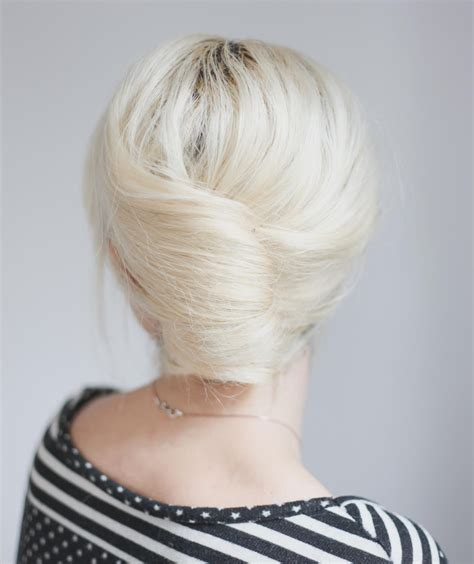 faulk french rolls hair styles simple french roll office ready hairstyles real simple