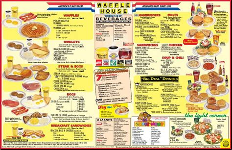 Waffle House Calories by Ihop Menu Nutrition Facts