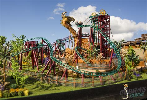 Where Is Busch Gardens In Florida by Busch Gardens Shares Details About Cobra S Curse Roller
