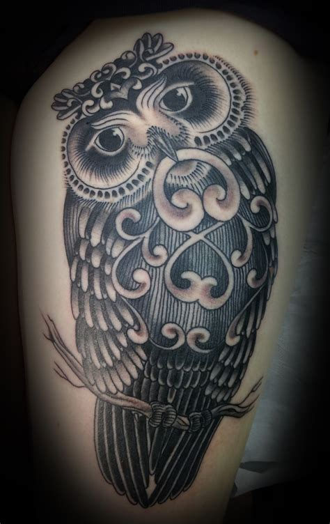 cool owl tattoos unique owl tattoos pictures to pin on pinsdaddy