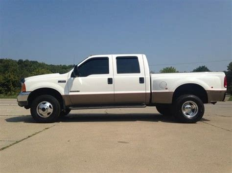 sell used 2001 ford f350 dually shortbed 32k original miles 4x4 7 3 diesel beautiful truck in