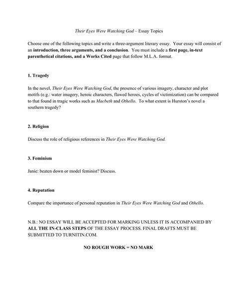 Their Were God Essay by Macbeth Essay Conclusion Docoments Ojazlink