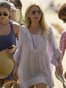 kelly ripa see through kelly ripa as she shows off her perfect pins on holiday in