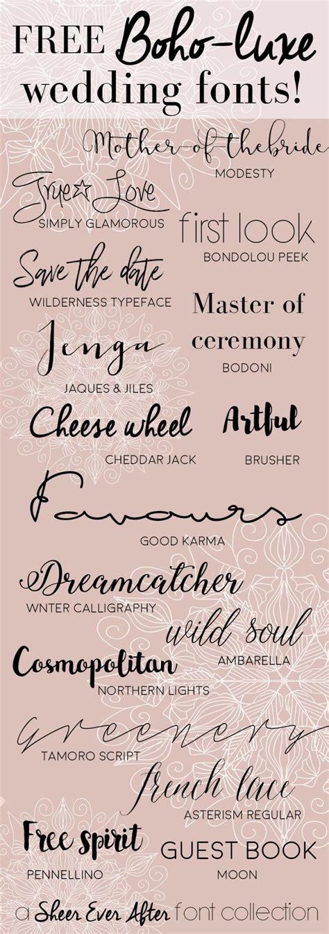 free wedding invitation script fonts free calligraphy fonts to make pretty wedding stationery
