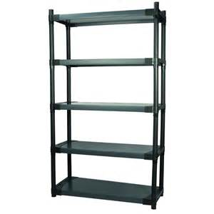 plastic storage shelves lowes grosfillex maximup 36 in modular shelving storage unit