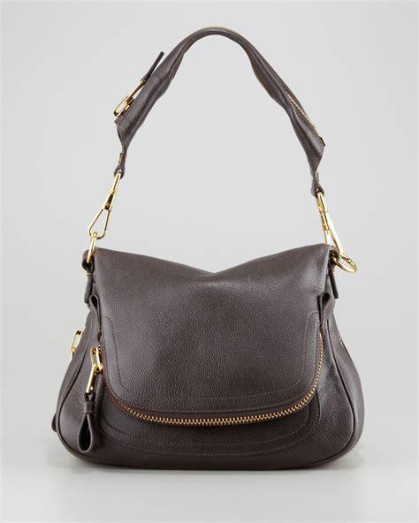 Tom Ford Bag by Tom Ford Medium Zip Shoulder Bag Brown