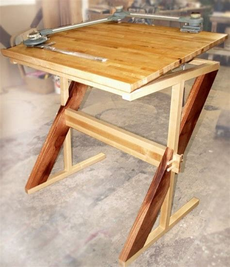 Custom Made Drafting Table By Cc Fine Furniture Custom Drafting Table