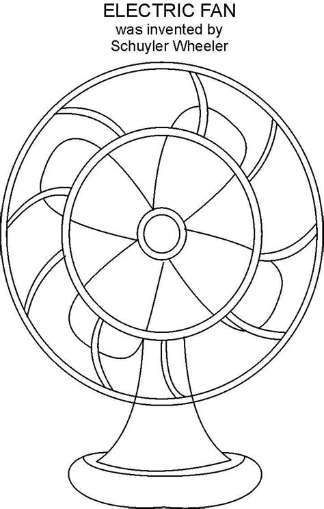 Fan Coloring Pages fan coloring page