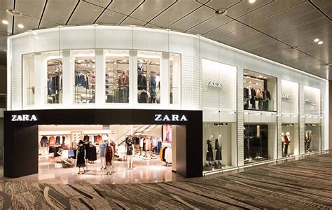 zara warehouse layout you can now get your fast fashion fix before you fly