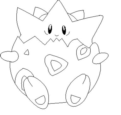 Togepi Coloring Pages Togepi Lineart 1 By Anime Bases Free On Deviantart by Togepi Coloring Pages