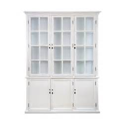white cabinet toulouse triple display cabinet white equator homewares