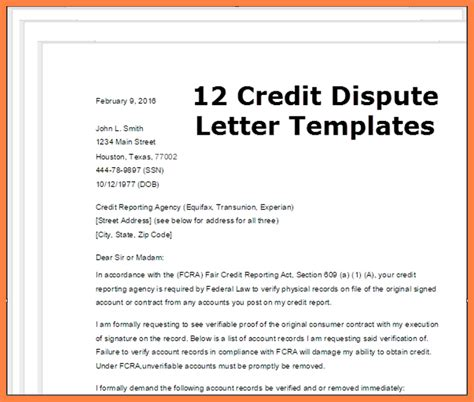 Dispute Letter To Experian 6 dispute credit report all three bureaus progress report