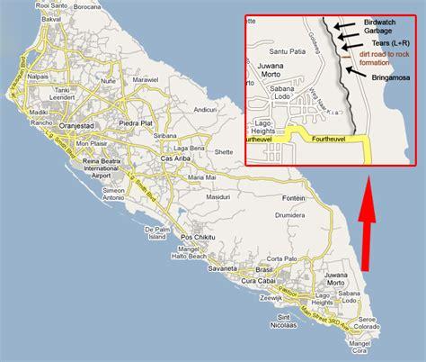 printable aruba road map sector
