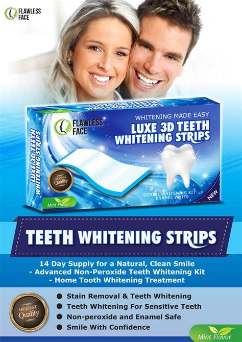 teeth whitening strips advanced white tooth