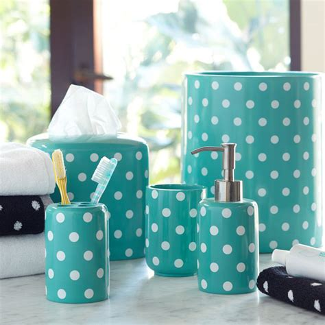 Polka Dot Bathroom Accessories 18 Bath Accessories To Make You Smile Brit Co