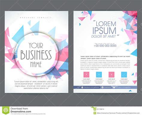 brochure  flyer design  business stock illustration illustration  design flyer