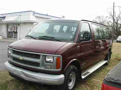 how make cars 2000 chevrolet express 3500 parking system buy used 2000 chevy express 3500 passenger van seats 10 w wheel chair space cargo poss in