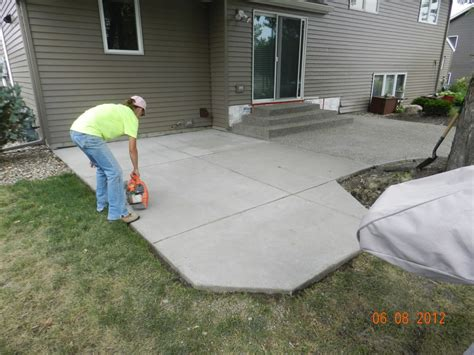 Staining Concrete Patio Blocks All Home Design Ideas Concrete Backyard Patio