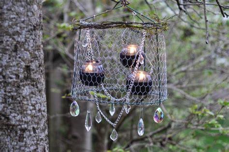 make an outdoor rustic chandelier rustic upcycled outdoor chandelier