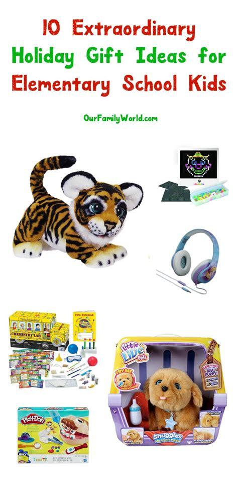 10 christmas gift ideas for elementary school kids